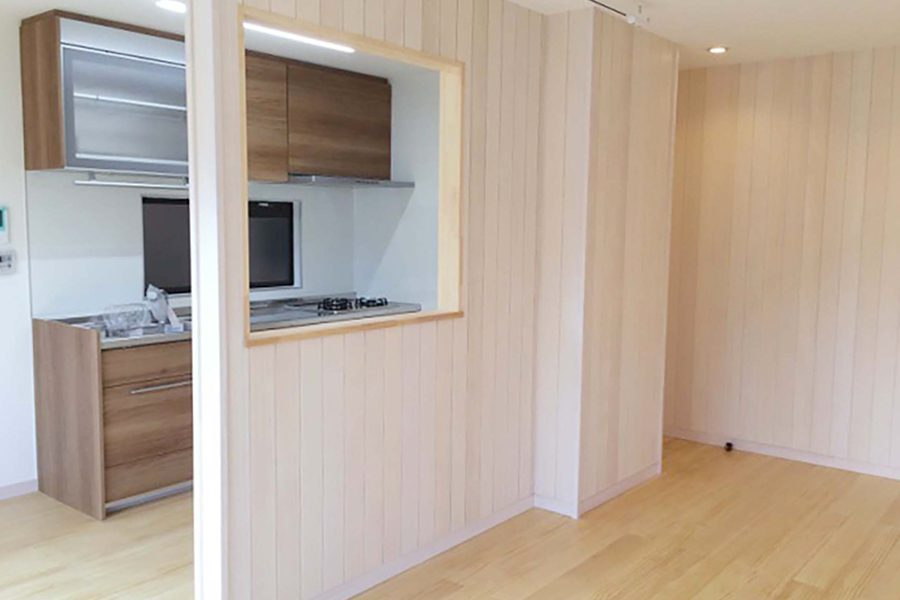 apartment kitchen partition