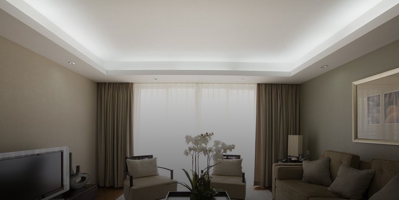 living room cove lighting