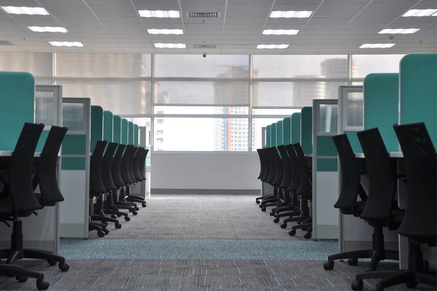 office ceiling lighting