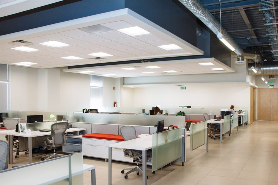 office suspended ceiling